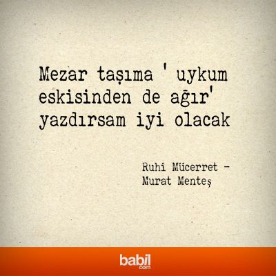 Murat Menteş Kaleminden Ruhi Mücerret babil.com'da %25 indirimli! http://www.babil.com/urunler/1242350/ruhi-mucerret-668785