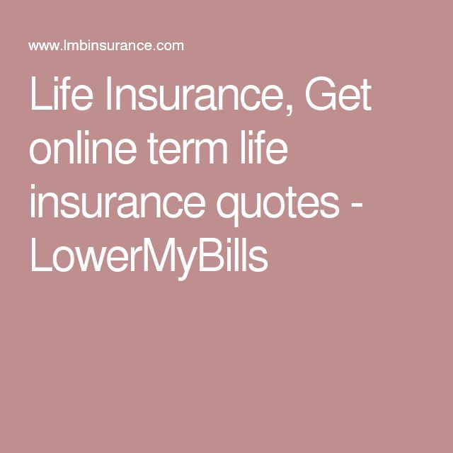 Life Insurance Quote Online: 1000+ Ideas About Term Life Insurance Rates On Pinterest