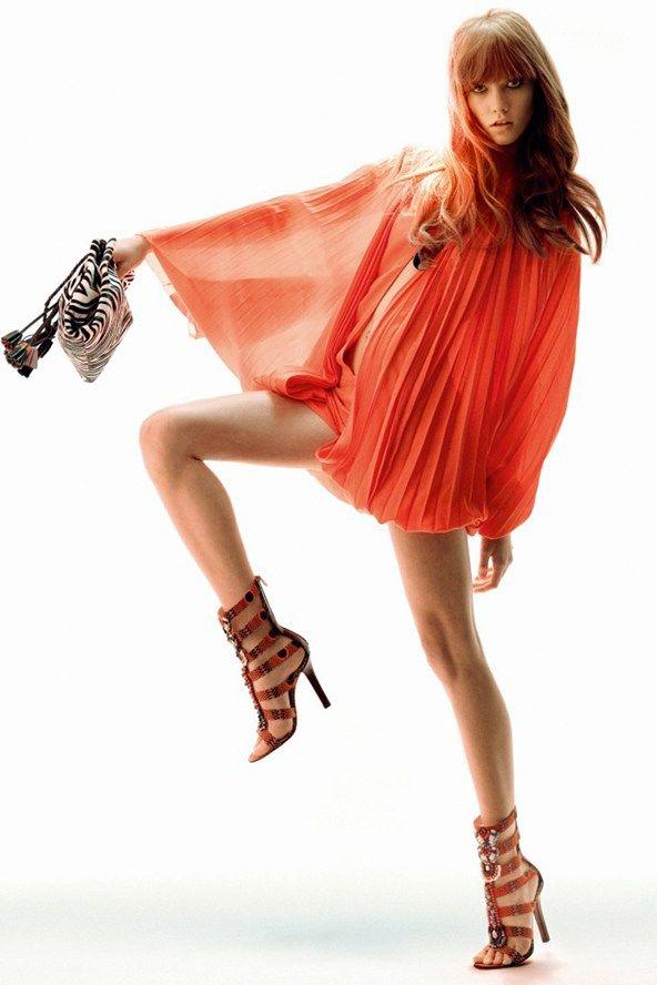 Vogue April 2009   Karlie Kloss   Regan Cameron
