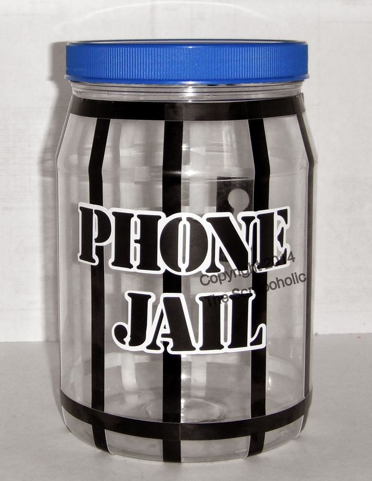 The Scrapoholic : Pintresting Creation - Cell Phone Jail