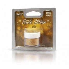 eetbare glitters ; edible glitter gold