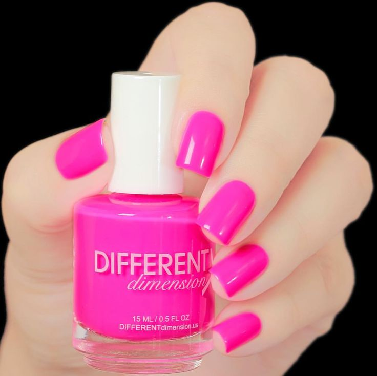 25+ Best Neon Pink Nail Polish Ideas On Pinterest