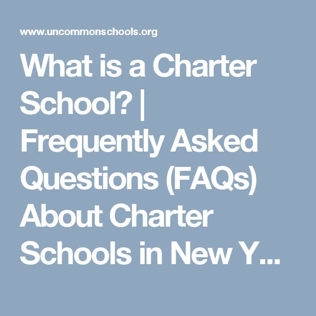 What is a Charter School? | Frequently Asked Questions (FAQs) About Charter Schools in New York, Massachusetts, and New Jersey | Uncommon Schools