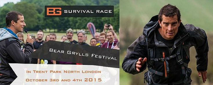 #WIN Tickets to Bear Grylls Survival Festival 3rd - 4th October, Trent Park http://www.whatson4me.co.uk/competitions/bear-grylls-survival-competitions.asp