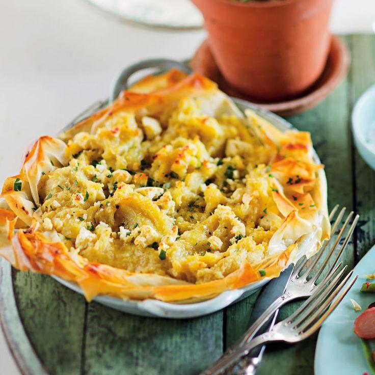 Sweet potato and feta pie - MyKitchen