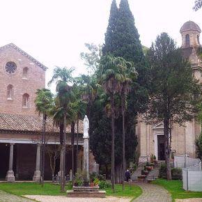 Tre Fontane Abbey in Rome