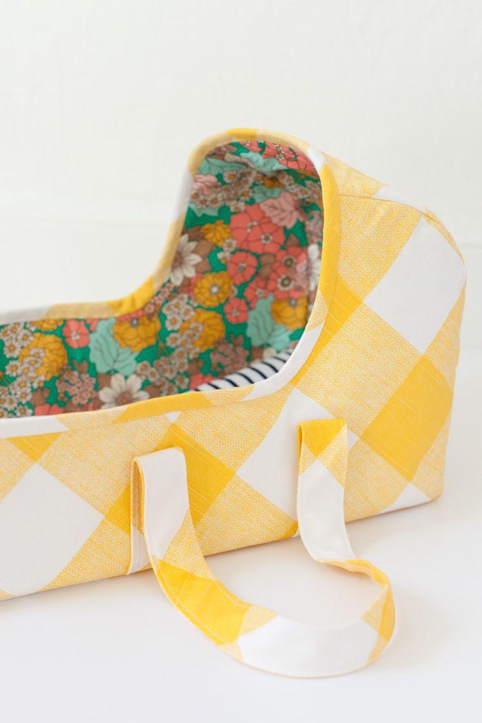 baby doll basket pattern by MADE | sewn by lbg studio