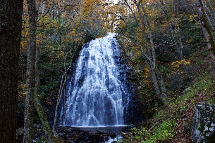Crabtree Padá, Blue Ridge Mountains, Severná Karolína