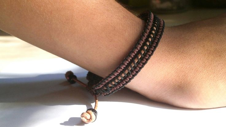 Excited to share the latest addition to my #etsy shop: Bracelet cord macrame, Unisex Bracelet, Macrame Anklet, Adjustable bracelet, friendship bracelet, Men bracelet gift, Women bracelet gift http://etsy.me/2BR8ykk
