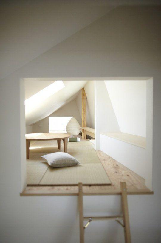 SMALL attic space