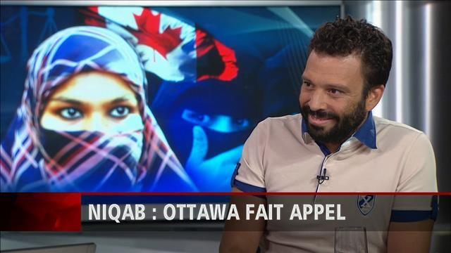 Haroun Bouazzi, coprésident de l'Association des musulmans et des Arabes pour la Laïcité au Québec, réagit à toute la controverse entourant la question du niqab.