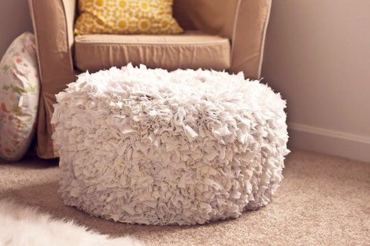 10 Tutorials for DIY Floor Poufs and Ottomans | Apartment Therapy