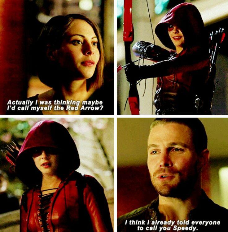Arrow - Thea & Oliver #3x23 #Season3 #ArrowSeasonFinale #Speedy