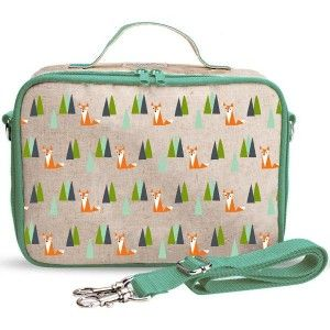 A PVC free & phthalate insulated lunch box is hard to find in Australia...until now! New style made of durable raw uncoated linen. Now machine washable. Comes with a leak proof insert for easier cleaning. Olive fox design.