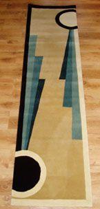 Bugatti art deco rug