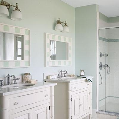 Beachy bathroom ideas for the house pinterest vanities sinks and i love - Small cottage style bathroom vanity design ...
