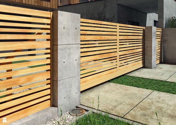 Ogrodzenie IMPRESSIVE - zdjęcie od Nive - Ogród - Styl Nowoczesny - Nive