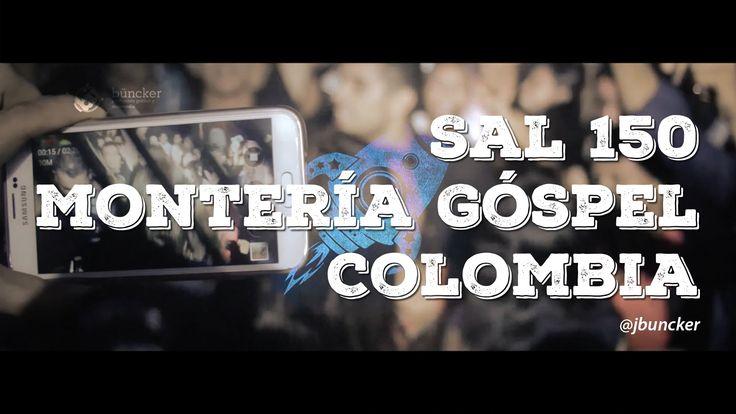30 segundos eufóricos con Sal150 (fragmento) #MonteríaGóspel