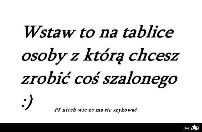 Chętnie :-)