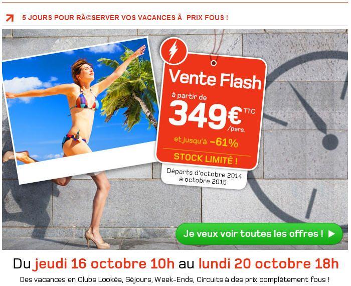 Vente flash look voyages promo voyage pas cher partez en vacances partir d - Discount vente flash ...