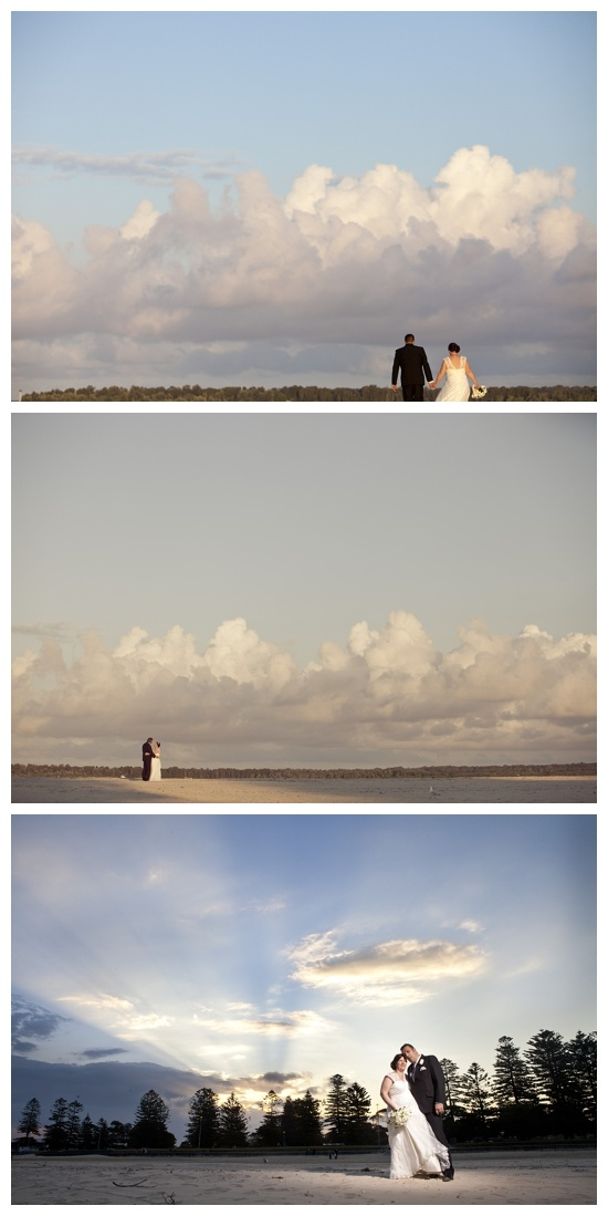 End of the day  Sydney Wedding Photography  Sydney Wedding Photographers  Beach wedding photos