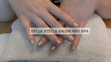 Ultra Bling Gel Nails by Stacey Barber. | Stacey Barber