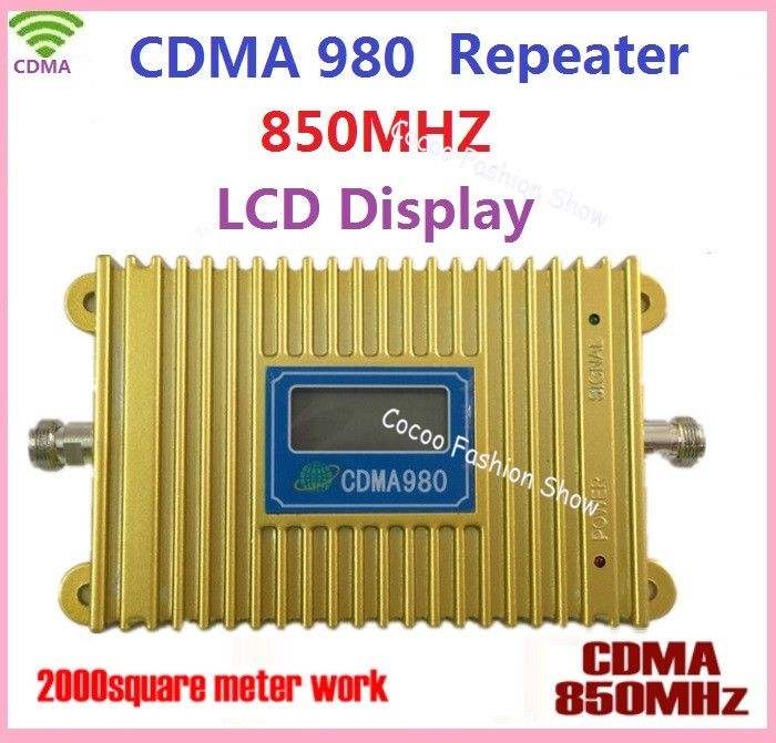 High Gain CDMA 980 850MHz LCD Display Mobile Phone Signal Booster/Repeater/Amplifer Coverage 2000square Free Shiping Click visit for check price #mobilephoneaccessories