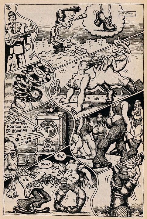A Censura na Austrália contra a Arte de Robert Crumb | DIFERENTE ≠
