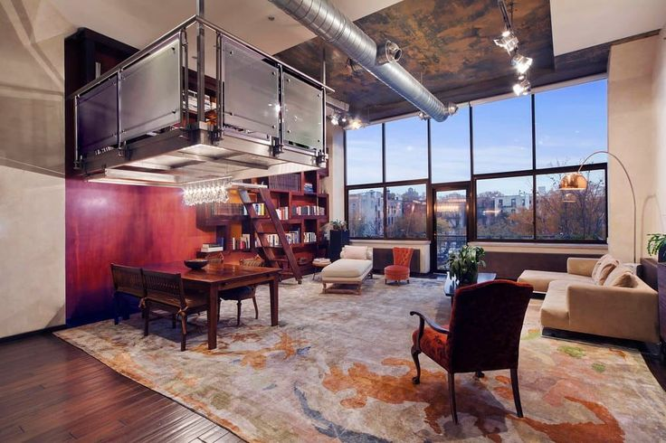 American architecture: the comfy Brooklyn loft (From SHILPI CHAKRAVARTY)