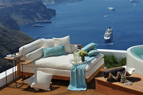 Erin Ax: Honeymoon Hot Spot: Aqua Luxury Suites, Greece