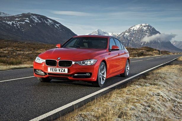 2012 BMW 3 series...German's know how to build diesel powered cars.