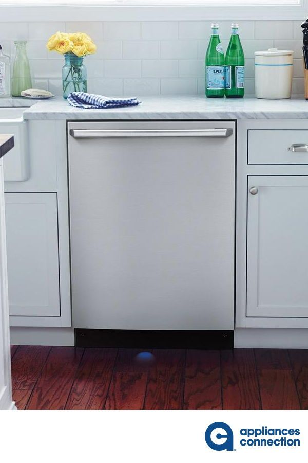 The 24 Built In Dishwasher By Electroluc Comes With Wave Touch