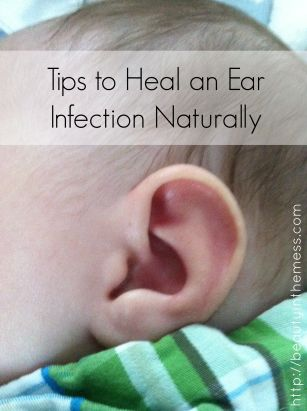 Great tips on how to heal an ear infection in babies and children naturally. (Please be careful with ear infections. My cousins son is profoundly deaf in both ears due to undetected double ear infections he had as an infant.)