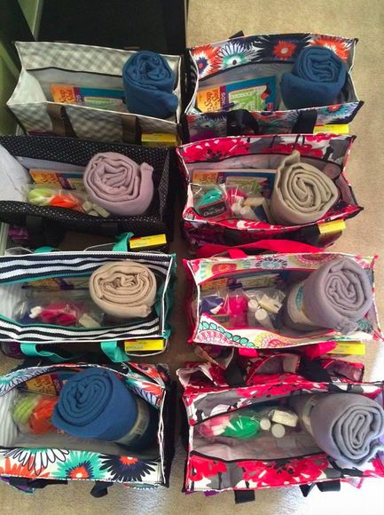 Thirty One Chemo Comfort Bags. I love this idea so much!                                                                                                                                                                                 More