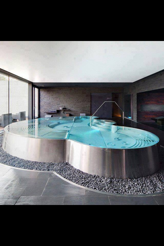 Amazing Hot Tub Home Decor Indoor Swimming Pools Home