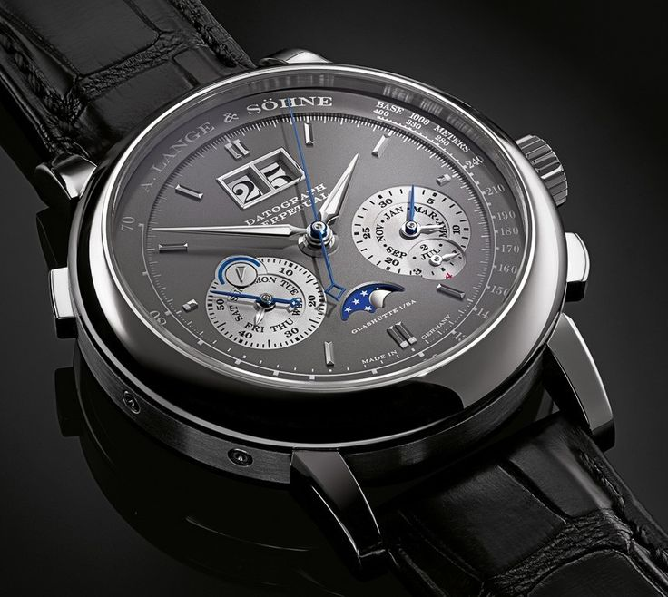 A. Lange & Söhne - Datograph Perpetual, ref.410038 - 41mm, 18kt white gold case, grey dial ~115k
