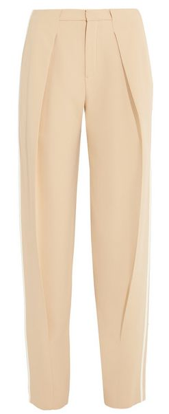 Olivia Palermo's NYFW Pin Picks: Recreate the Porsche Design SS '15 look with this clean tapered pant by Chloe.