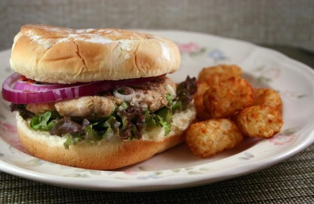 Boston Turkey Burger from Food.com:   								This is one tasty burger-love the cran/ketchup sauce!