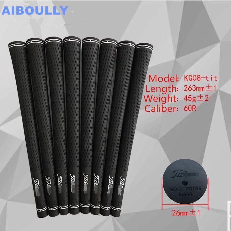 Free shipping Hot sale Golf Club Grips Black Rubber golf putter grips 10pcs/lot Kg08-Titleist Golf Equipment