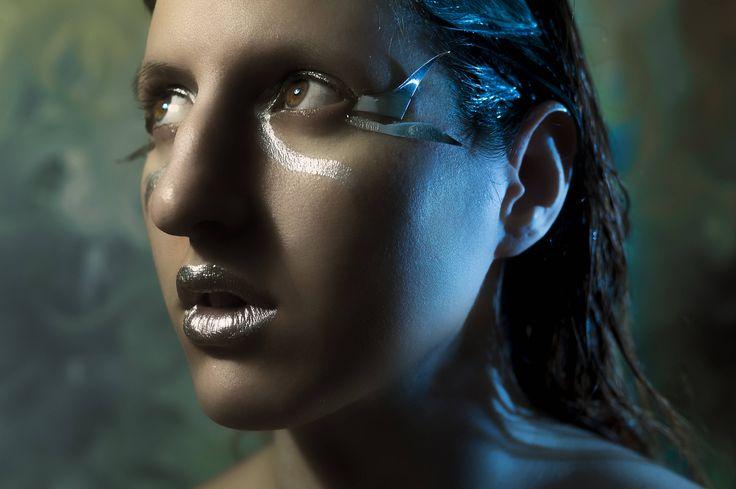 silver girl by TreasureArtCorner on Etsy