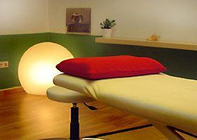 Therapieraum der Osteopathie Praxis Berlin Wilmersdorf