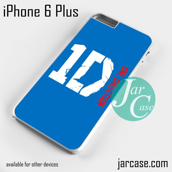 one direction blue logo Phone case for iPhone 6 Plus and other iPhone devices