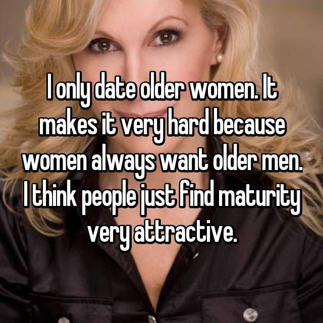 I want to date older men