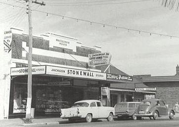 Stonewall Jackson store c1960 Springwood