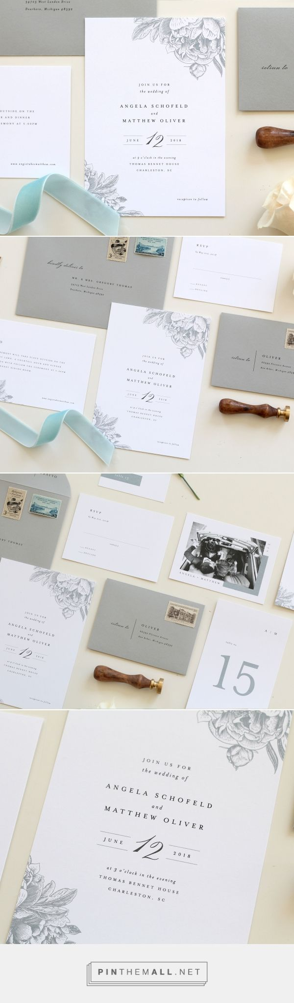 103 best Tied & Two | Wedding Stationery images on Pinterest