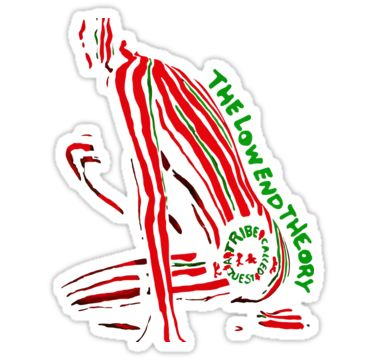 """""""A Tribe Called Quest The Low End Theory"""" Stickers by humantees 