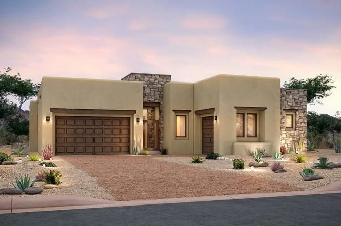 Catalina Santa Fe Nm 87506 3 Beds 2 5 Baths Flat Roof House Pulte Homes New Mexico Homes