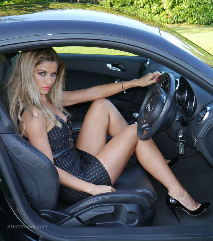 Naked sports girls cars and