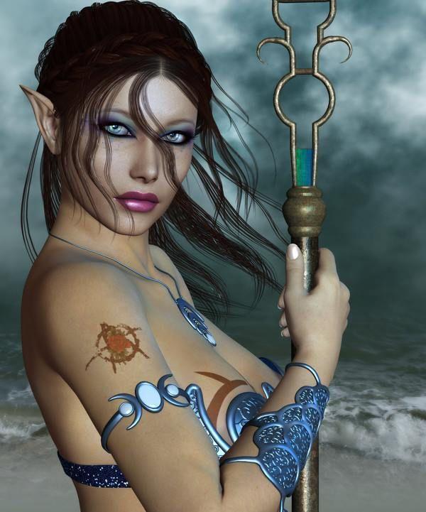 Art elfique érotique