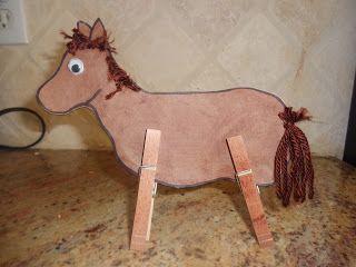 Best 25 wild west crafts ideas on pinterest wild wild for Horse crafts for kids